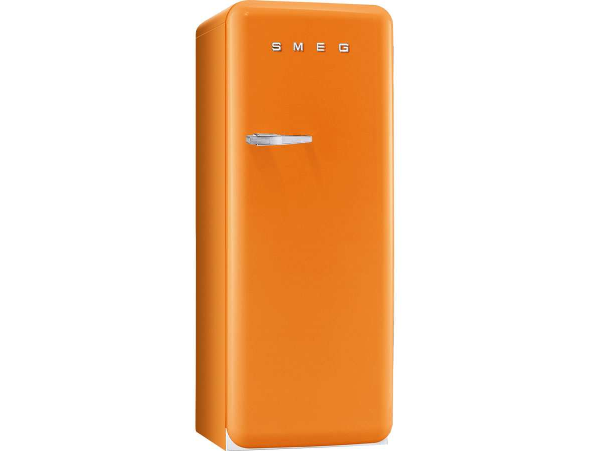smeg fab28ro1 stand k hlschrank orange f r 1099 00 eur. Black Bedroom Furniture Sets. Home Design Ideas