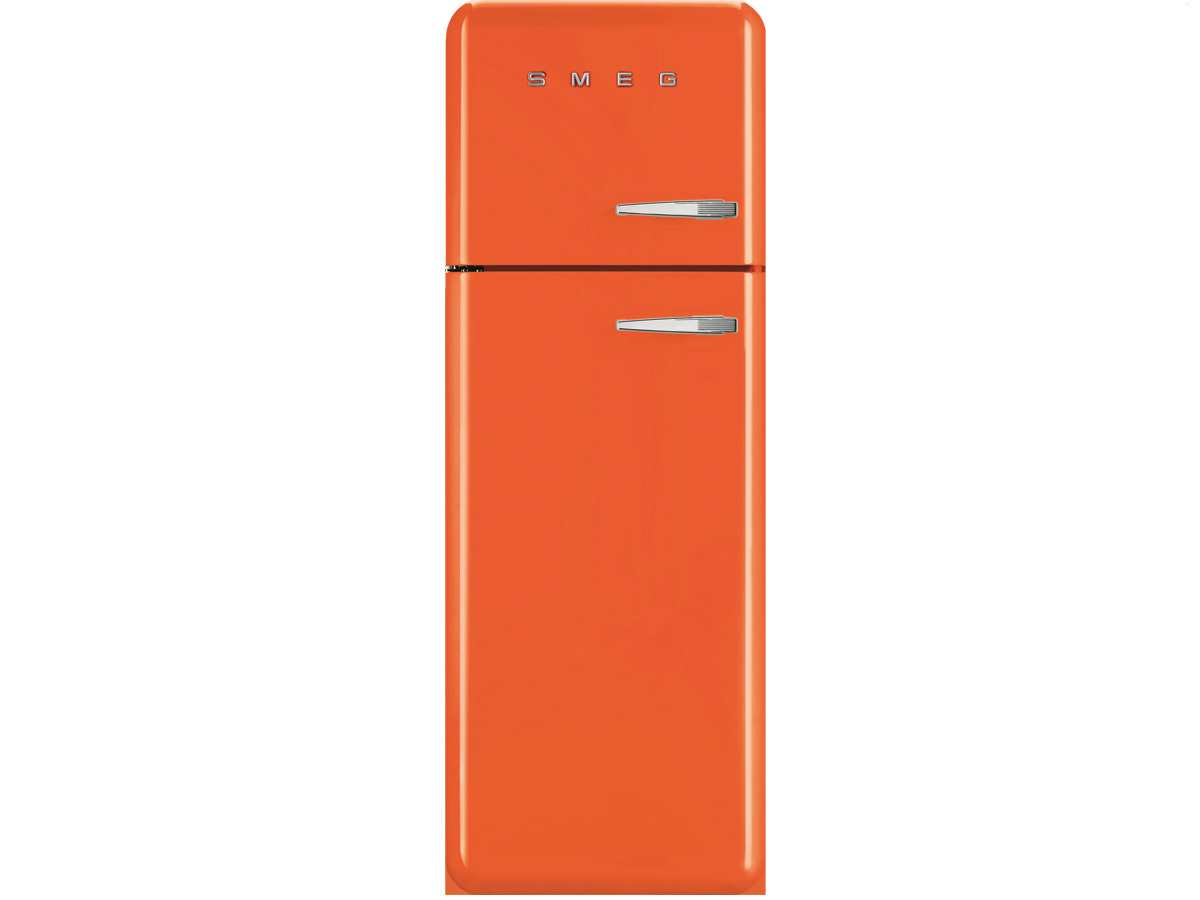smeg fab30lo1 standk hlschrank k hl gefrier kombination orange retro a led ebay. Black Bedroom Furniture Sets. Home Design Ideas