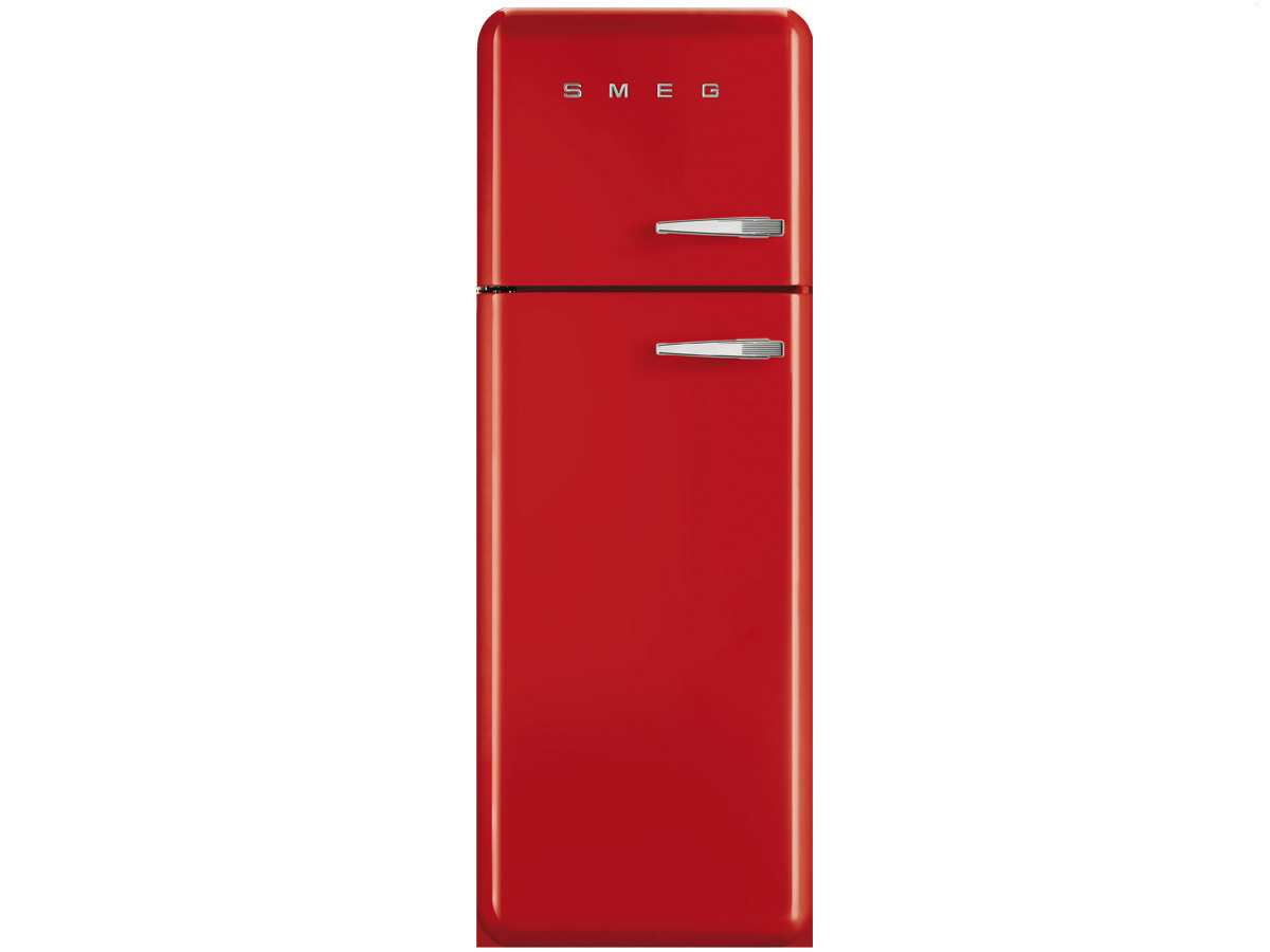 smeg fab30lr1 stand gefrierkombi rot k hlschrank k hlger t. Black Bedroom Furniture Sets. Home Design Ideas