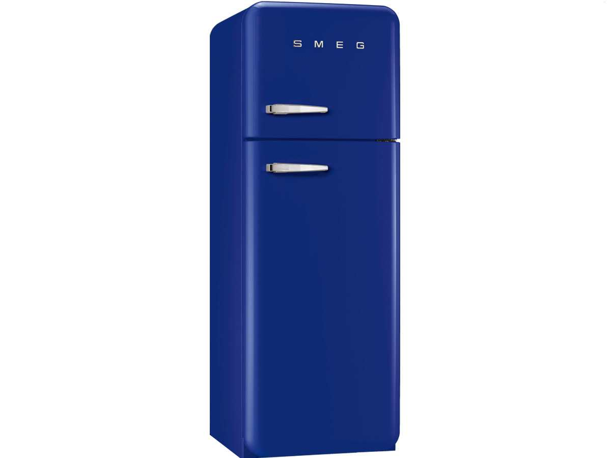 smeg fab30rbl1 stand gefrierkombi dunkelblau amerikanischer k hlschrank a led 8017709173869 ebay. Black Bedroom Furniture Sets. Home Design Ideas