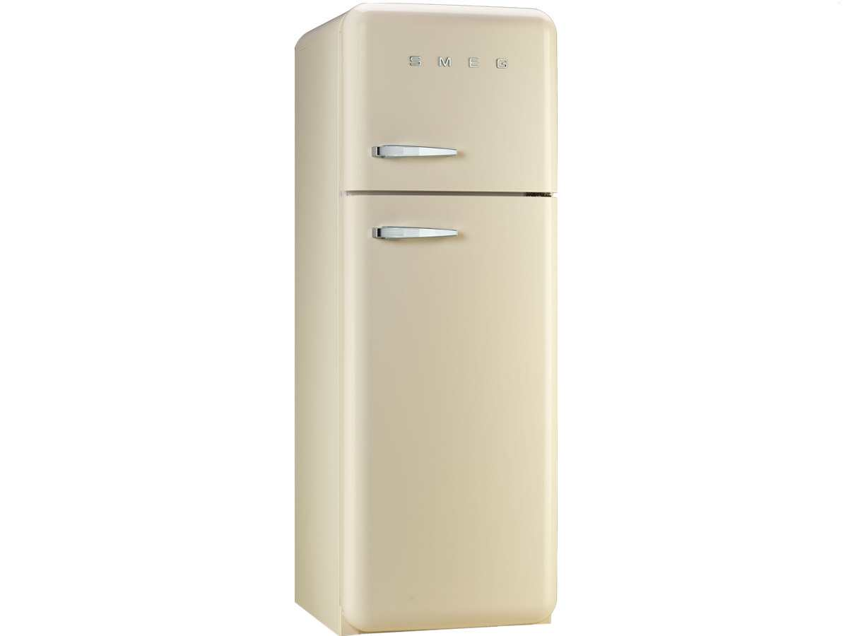 smeg fab30rp1 standk hlschrank k hl gefrier kombination creme beige a led ebay. Black Bedroom Furniture Sets. Home Design Ideas
