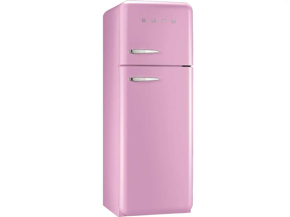 smeg fab30rro1 standk hlschrank gefrierkombi cadilac pink. Black Bedroom Furniture Sets. Home Design Ideas
