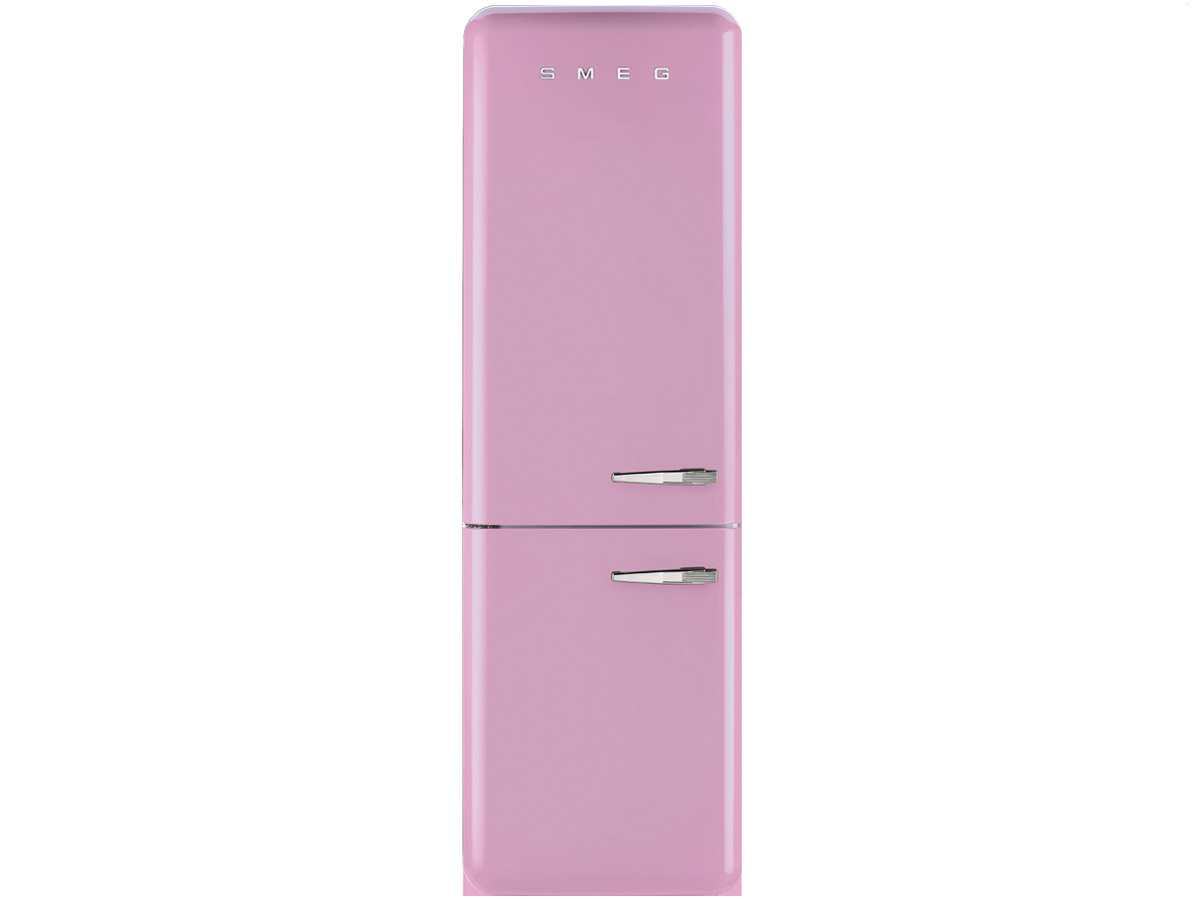 smeg fab32lron1 standger t k hlgefrierkombination cadillac pink rosa nostalgie ebay. Black Bedroom Furniture Sets. Home Design Ideas