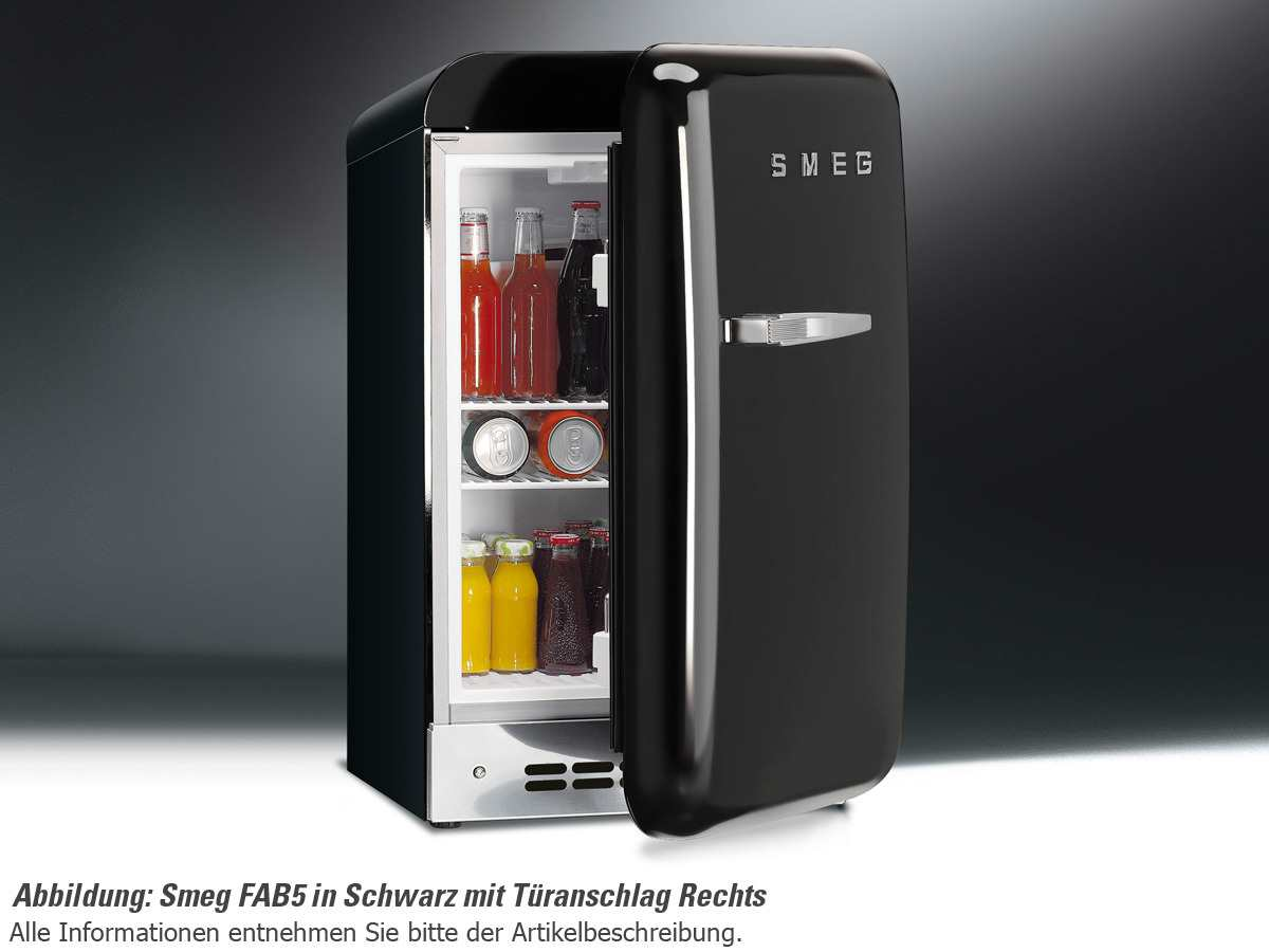smeg fab5lr stand k hlschrank rot f r 679 00 eur shop. Black Bedroom Furniture Sets. Home Design Ideas
