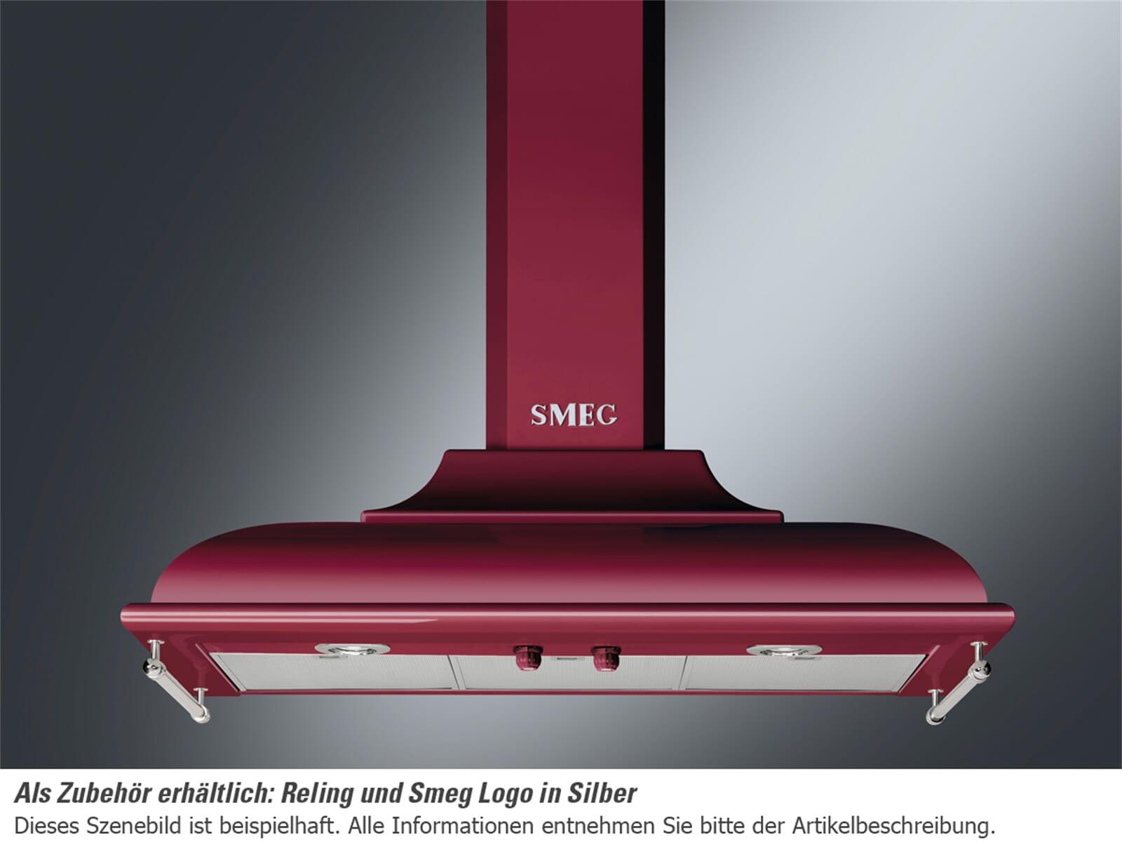 smeg kc19rw wand dunstabzugshaube weinrot f r 1199 00 eur. Black Bedroom Furniture Sets. Home Design Ideas