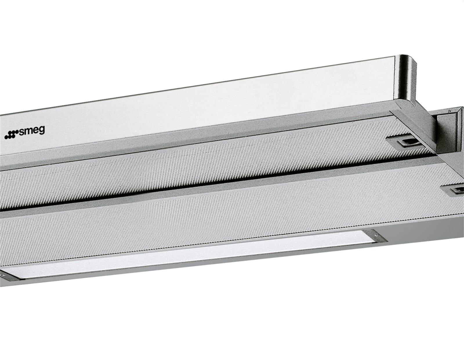 smeg kset9x flachschirm dunstabzugshaube edelstahl f r 289 00 eur. Black Bedroom Furniture Sets. Home Design Ideas
