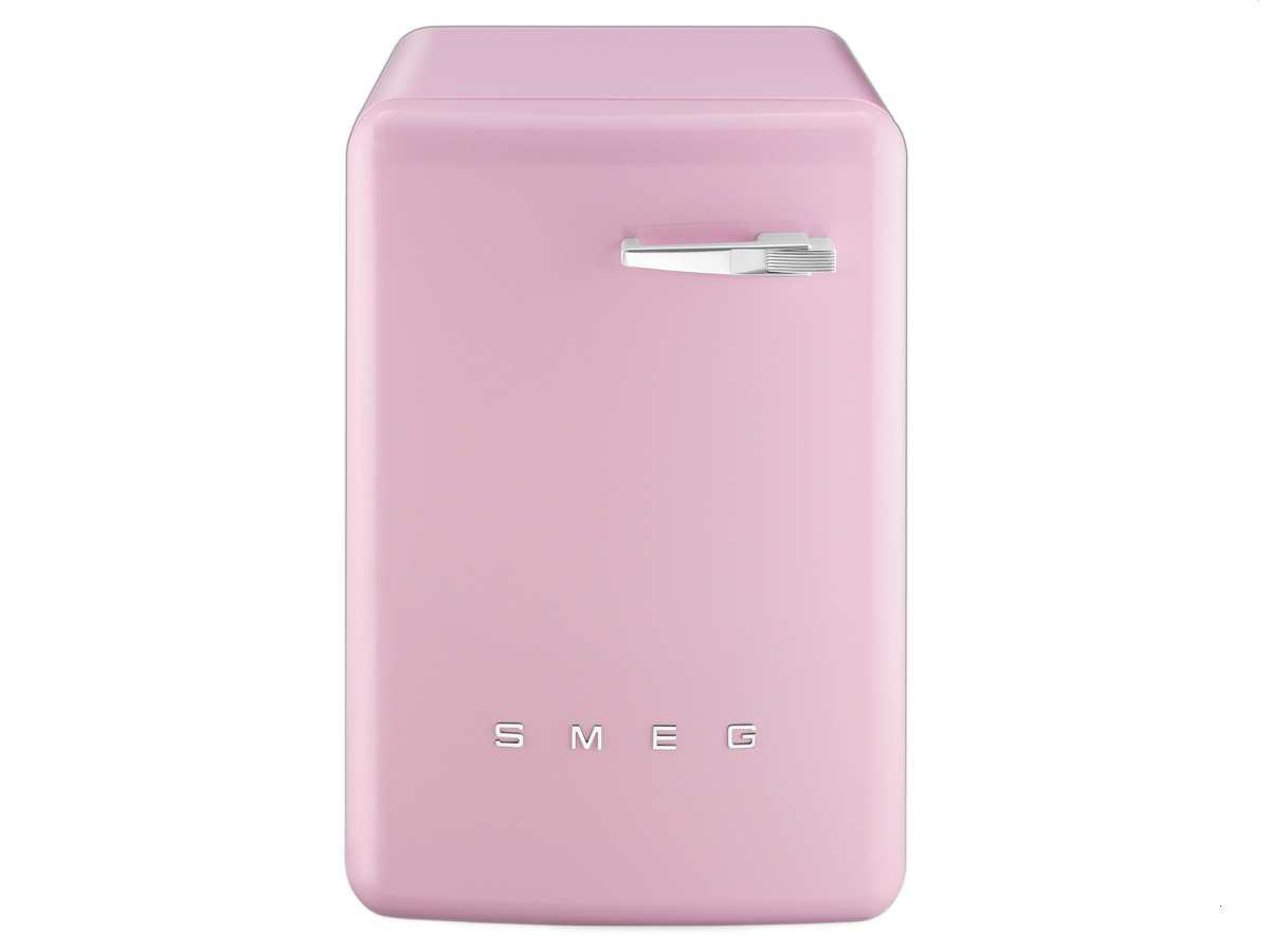 smeg lbb14ro stand waschmaschine cadillac pink auqa stop. Black Bedroom Furniture Sets. Home Design Ideas