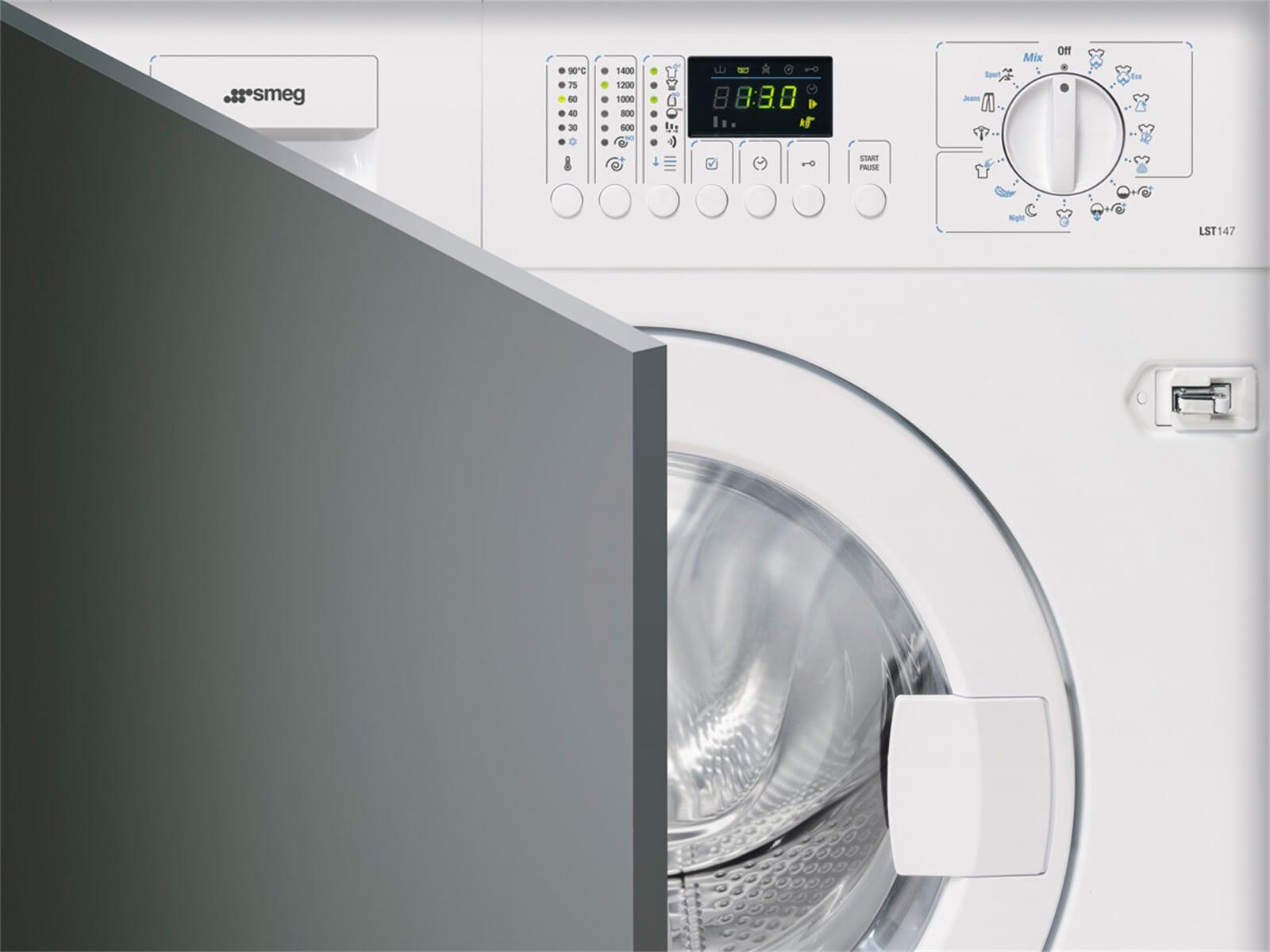 smeg lst147 einbau waschmaschine 7 kg 1400 u min a aqua stop waschvollautomat 8017709137755 ebay. Black Bedroom Furniture Sets. Home Design Ideas