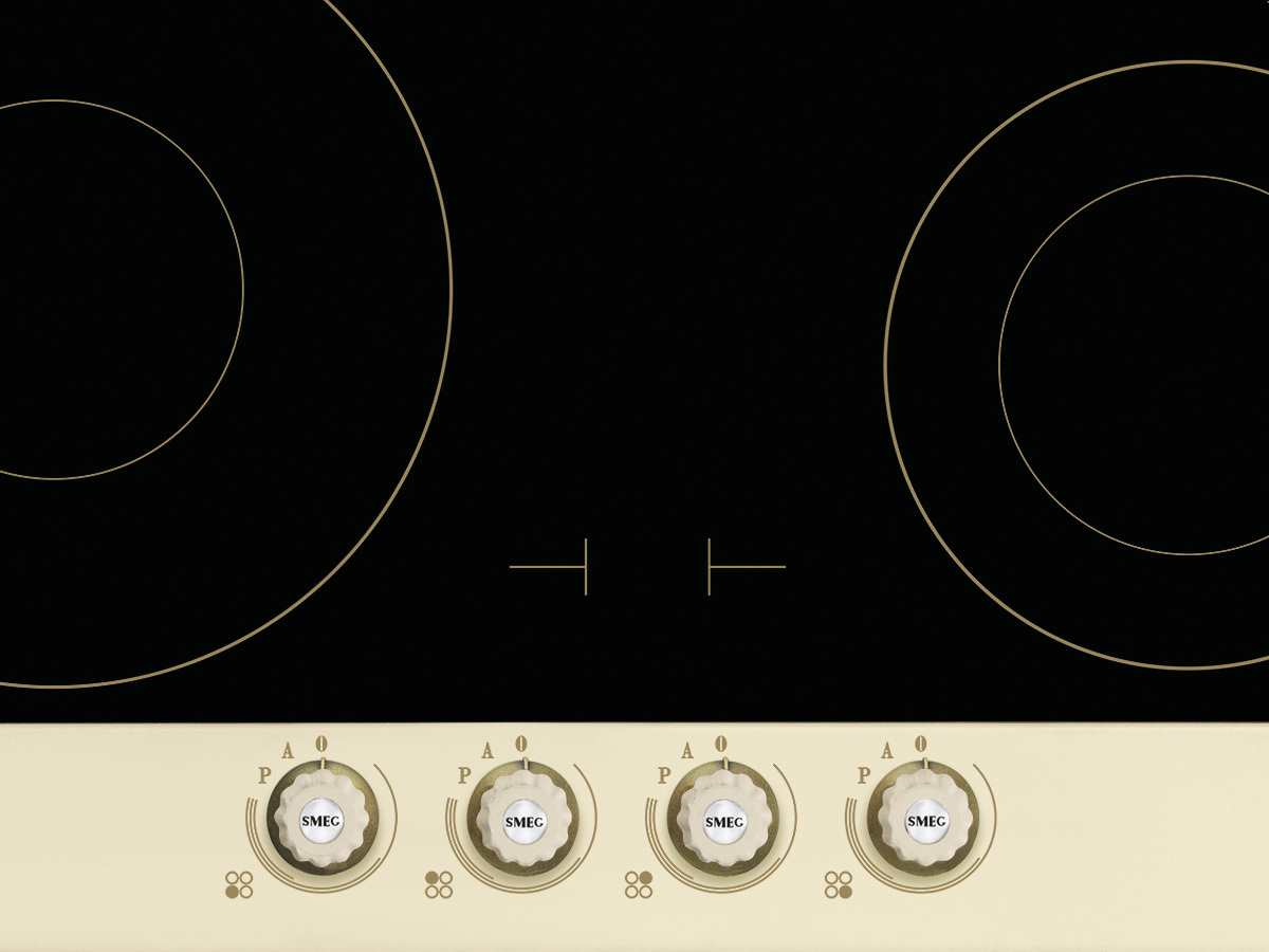 smeg pi764po induktion glaskeramik kochfeld autark f r. Black Bedroom Furniture Sets. Home Design Ideas