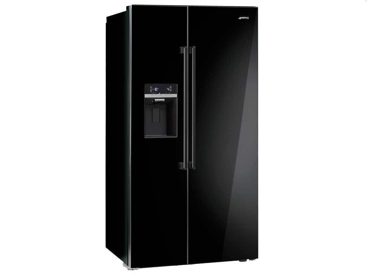 smeg sbs63ned side by side k hl gefrier kombination. Black Bedroom Furniture Sets. Home Design Ideas