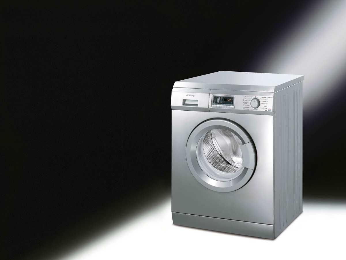 smeg slb147xd stand waschmaschine edelstahl f r 1099 00 eur. Black Bedroom Furniture Sets. Home Design Ideas