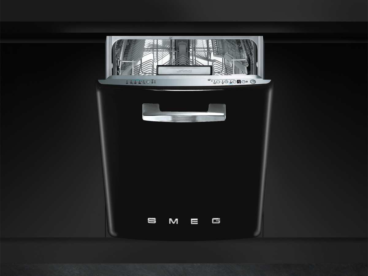 smeg st2fabbl unterbau geschirrsp ler schwarz sp lmaschine. Black Bedroom Furniture Sets. Home Design Ideas