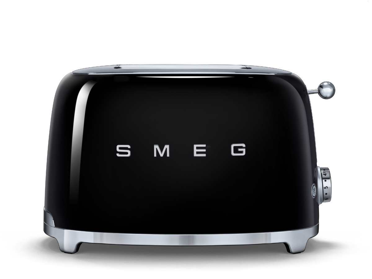 smeg tsf01bleu 2 scheiben toaster schwarz f r 139 00 eur. Black Bedroom Furniture Sets. Home Design Ideas