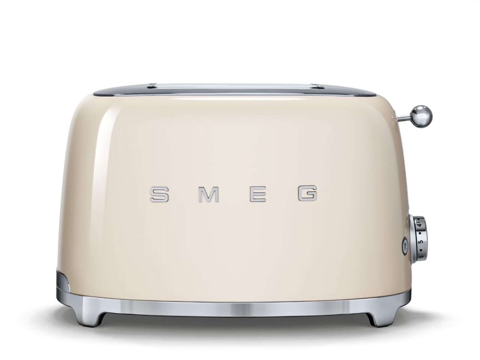 smeg tsf01creu 2 scheiben toaster creme f r 139 00 eur. Black Bedroom Furniture Sets. Home Design Ideas