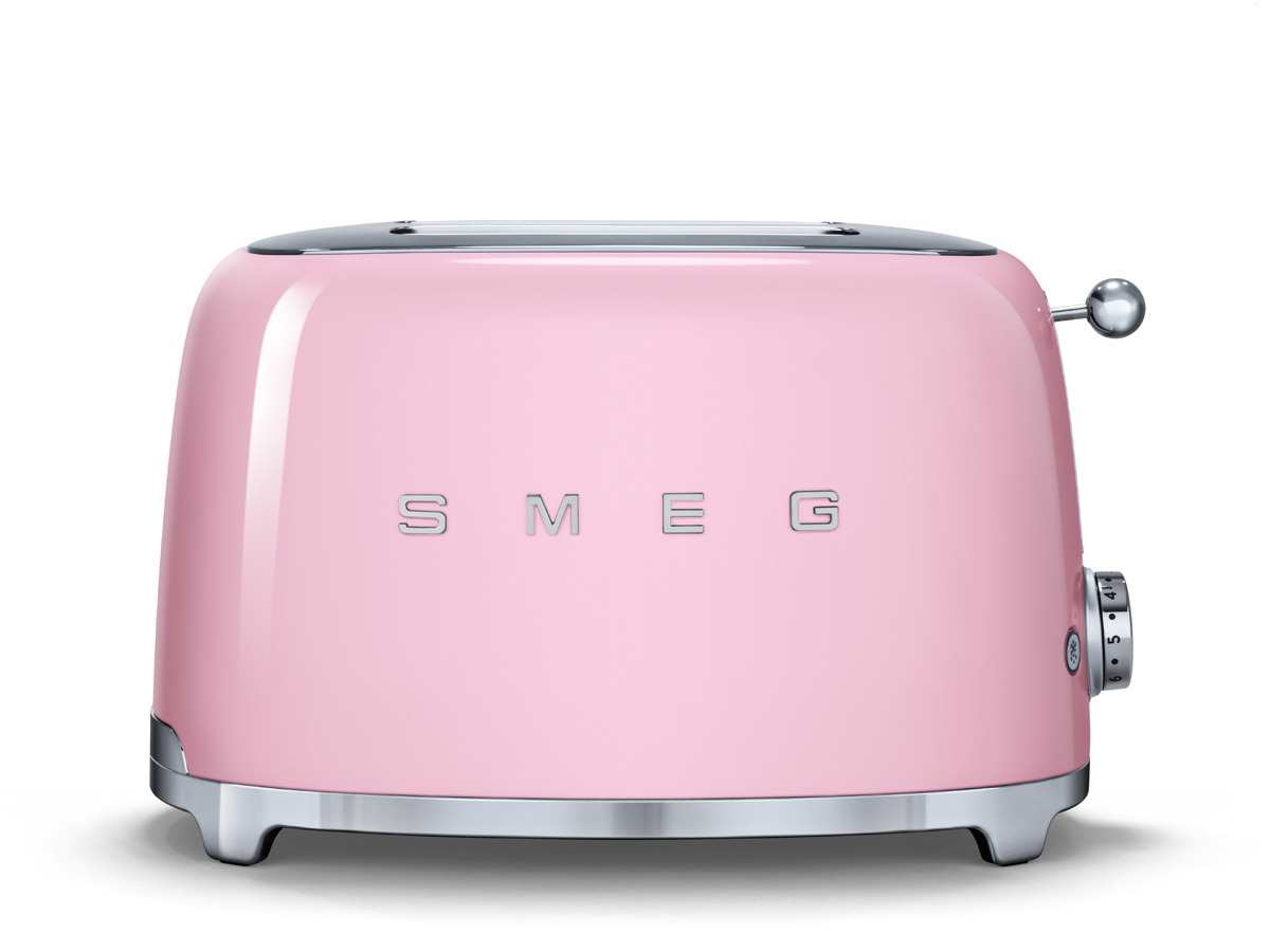 smeg tsf01pkeu 2 scheiben toaster cadillac pink f r 139 00. Black Bedroom Furniture Sets. Home Design Ideas