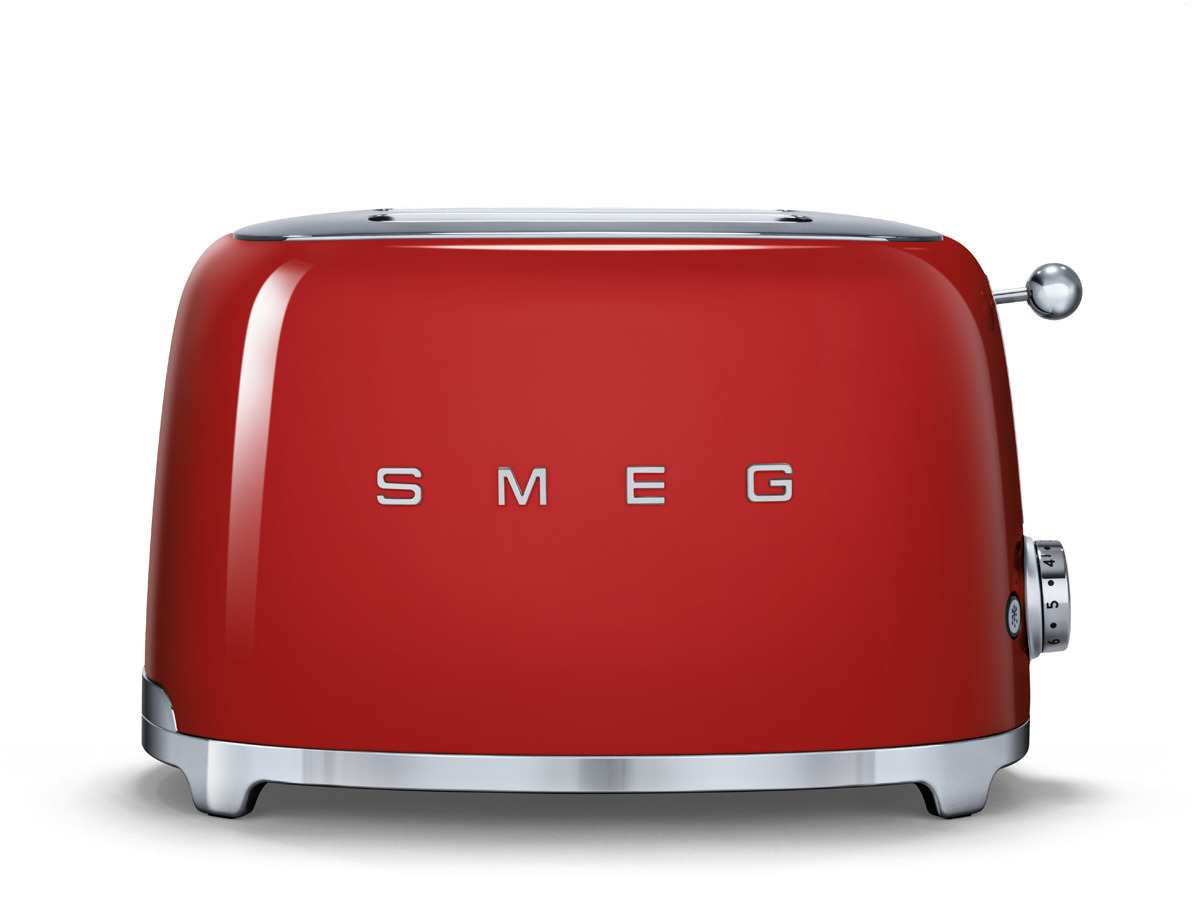 smeg tsf01rdeu 2 scheiben toaster rot f r 139 00 eur. Black Bedroom Furniture Sets. Home Design Ideas