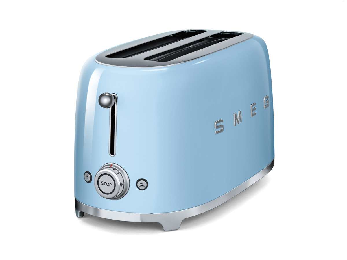smeg tsf02pbeu 4 scheiben toaster pastellblau f r 169 00 eur. Black Bedroom Furniture Sets. Home Design Ideas