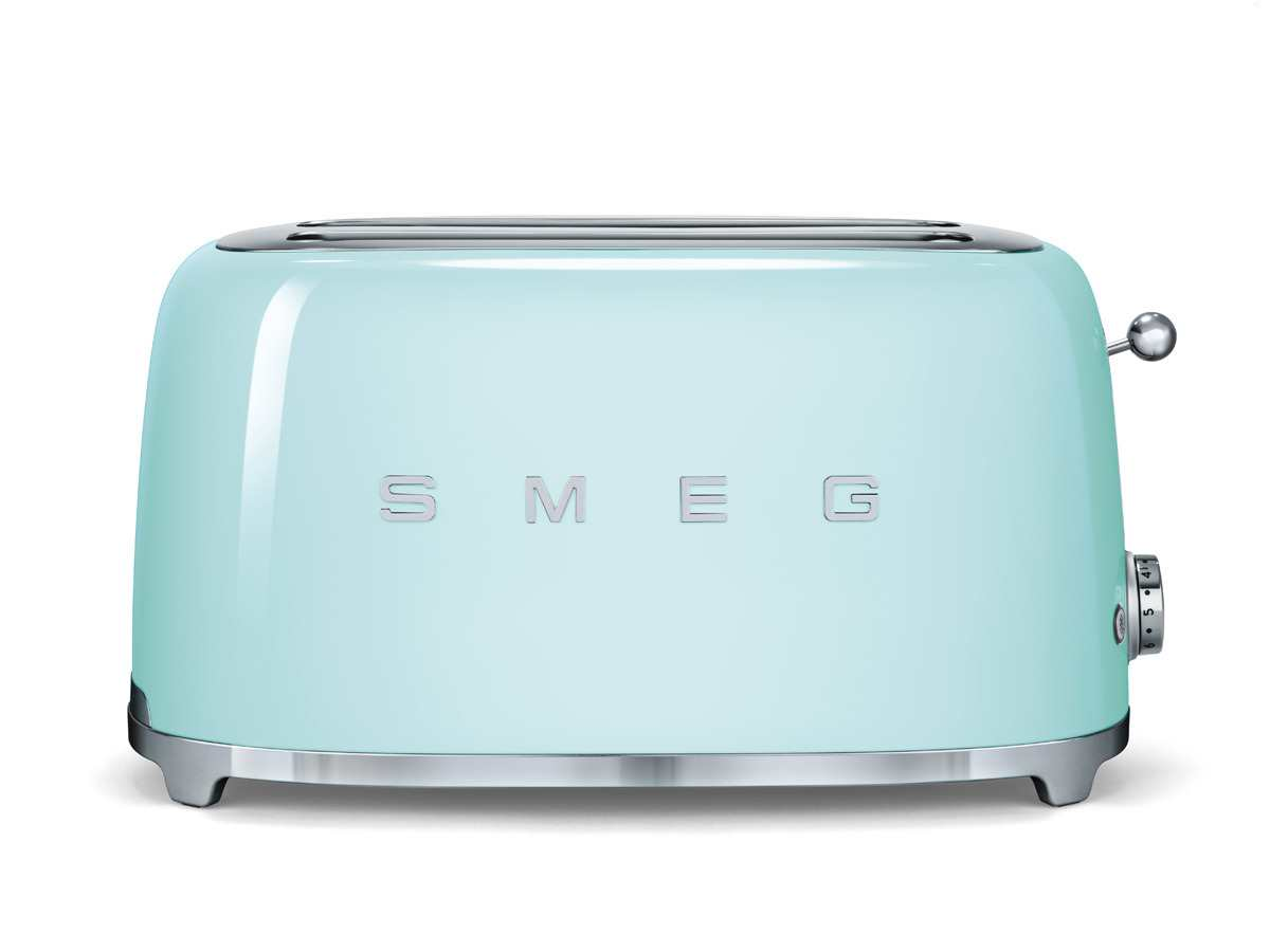 smeg tsf02pgeu 4 scheiben toaster pastellgr n. Black Bedroom Furniture Sets. Home Design Ideas