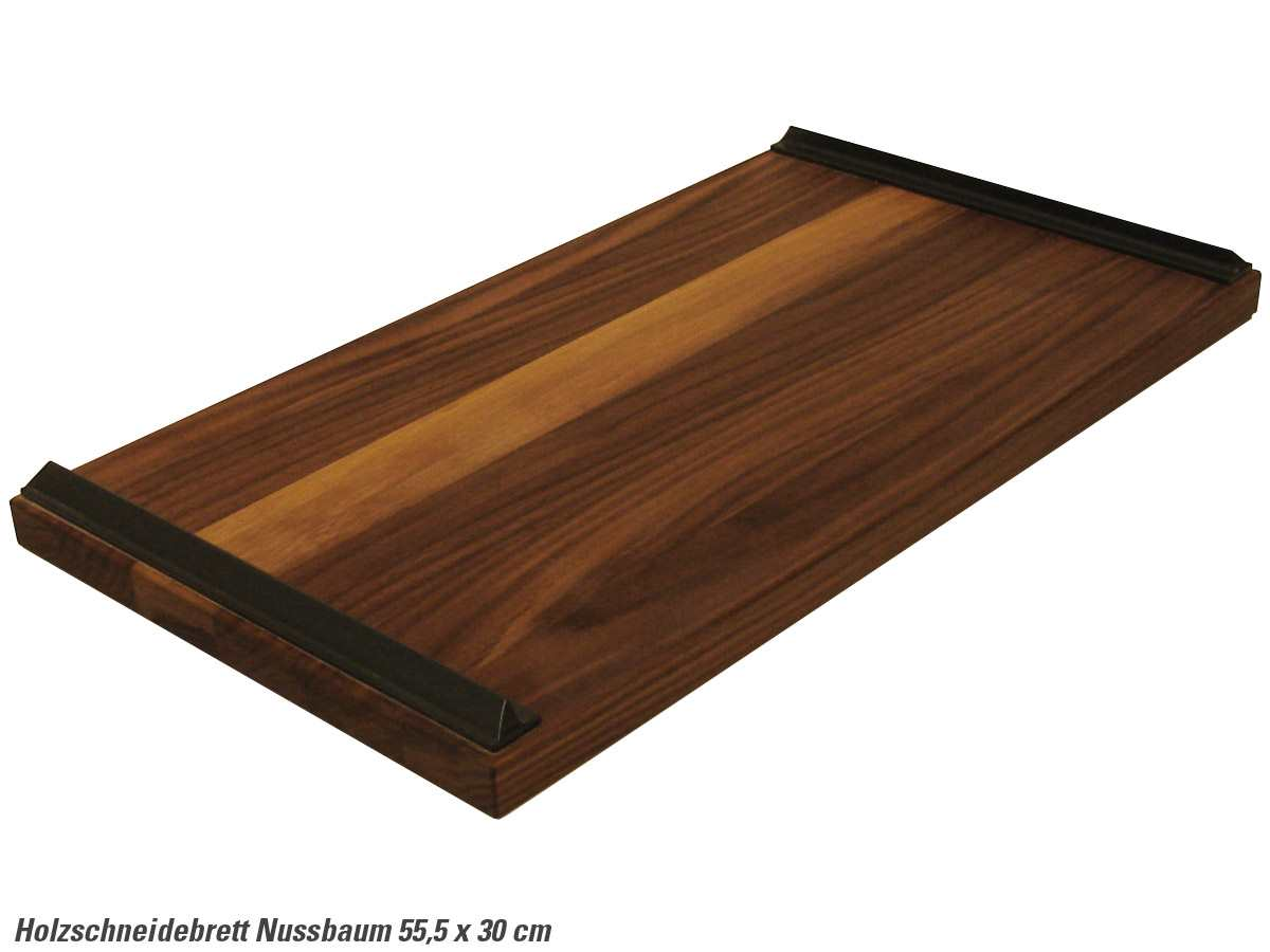 nussbaum schneidebrett holzbrett holz auflagebrett ebay. Black Bedroom Furniture Sets. Home Design Ideas