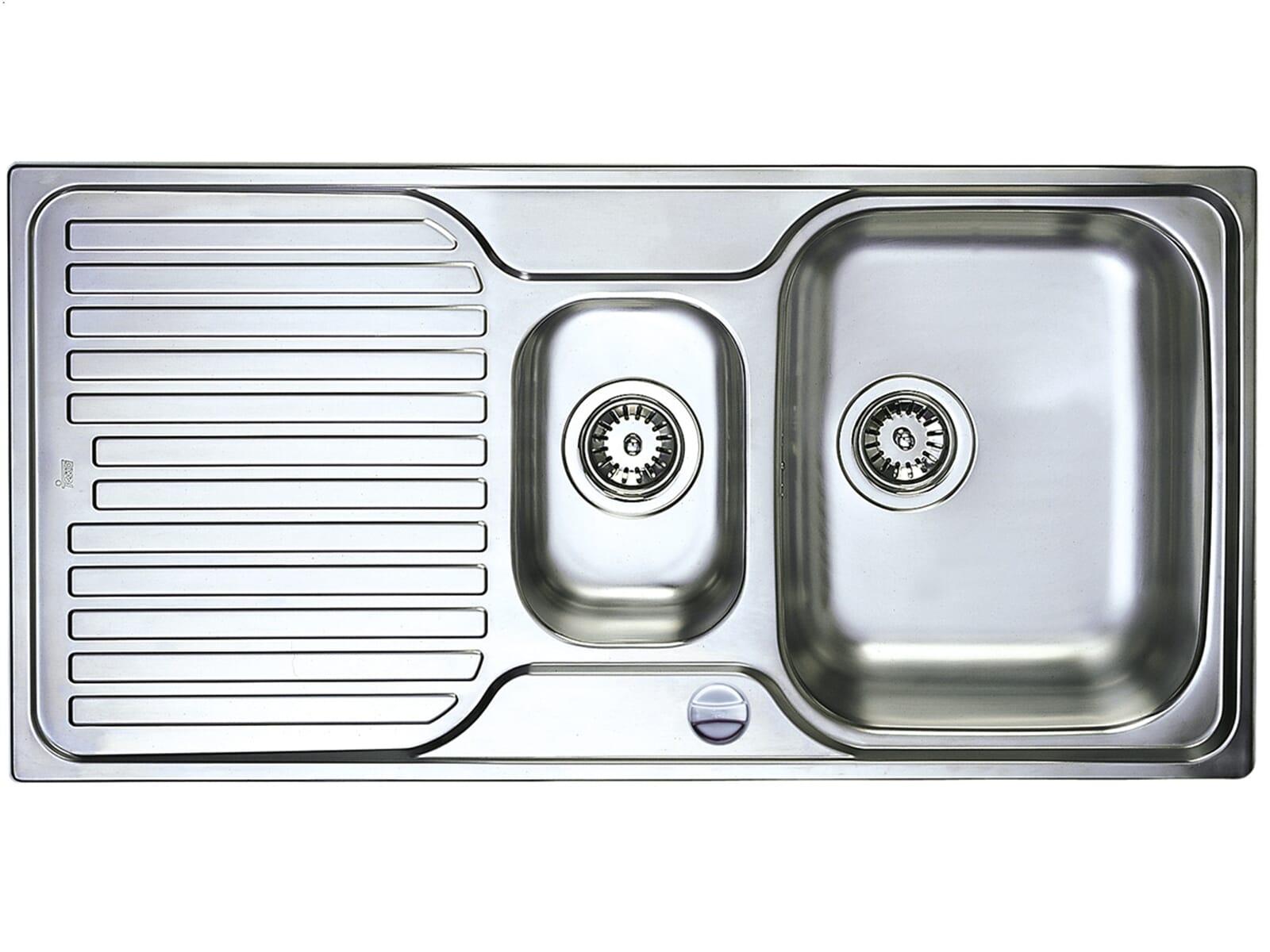 teka classic 1,5 bs 1d edelstahlspüle küchenspüle  ~ Spülbecken Teka