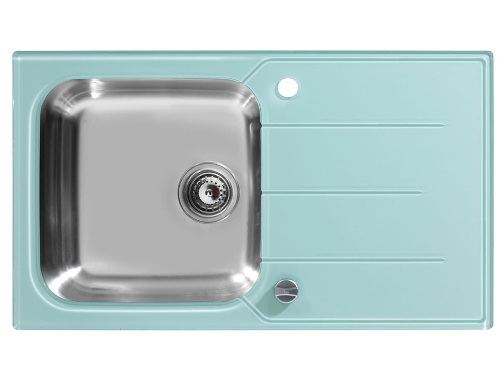 glas sp lbecken k che abdeckung ablauf dusche. Black Bedroom Furniture Sets. Home Design Ideas