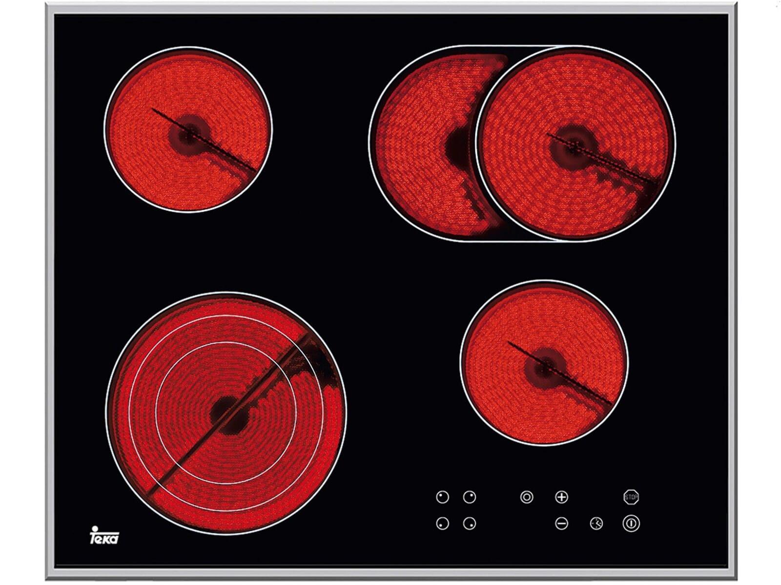 teka tt 642 select glaskeramik kochfeld autark einbauherd. Black Bedroom Furniture Sets. Home Design Ideas