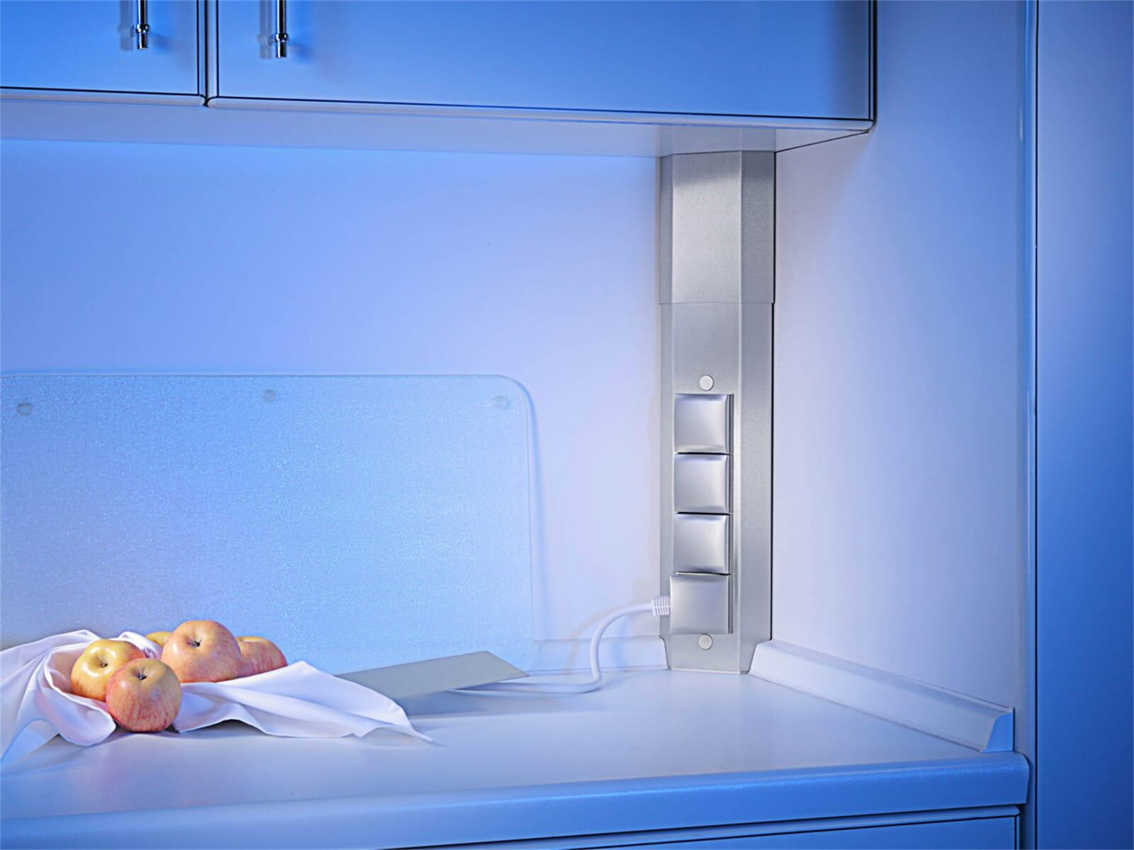 thebo sts 3008k 17686k steckdosenelement edelstahl f r. Black Bedroom Furniture Sets. Home Design Ideas