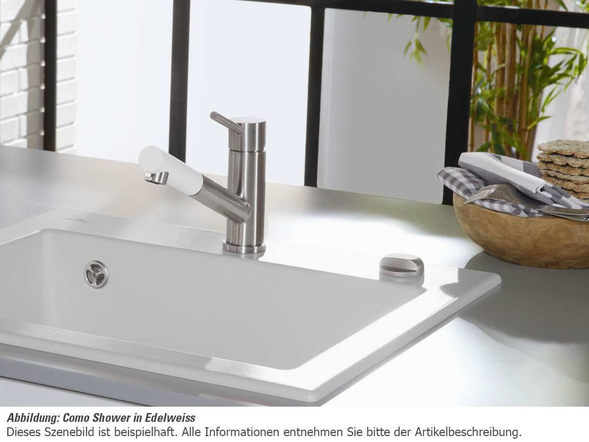 villeroy boch como shower timber braun hochdruck armatur wasserhahn k che ebay. Black Bedroom Furniture Sets. Home Design Ideas