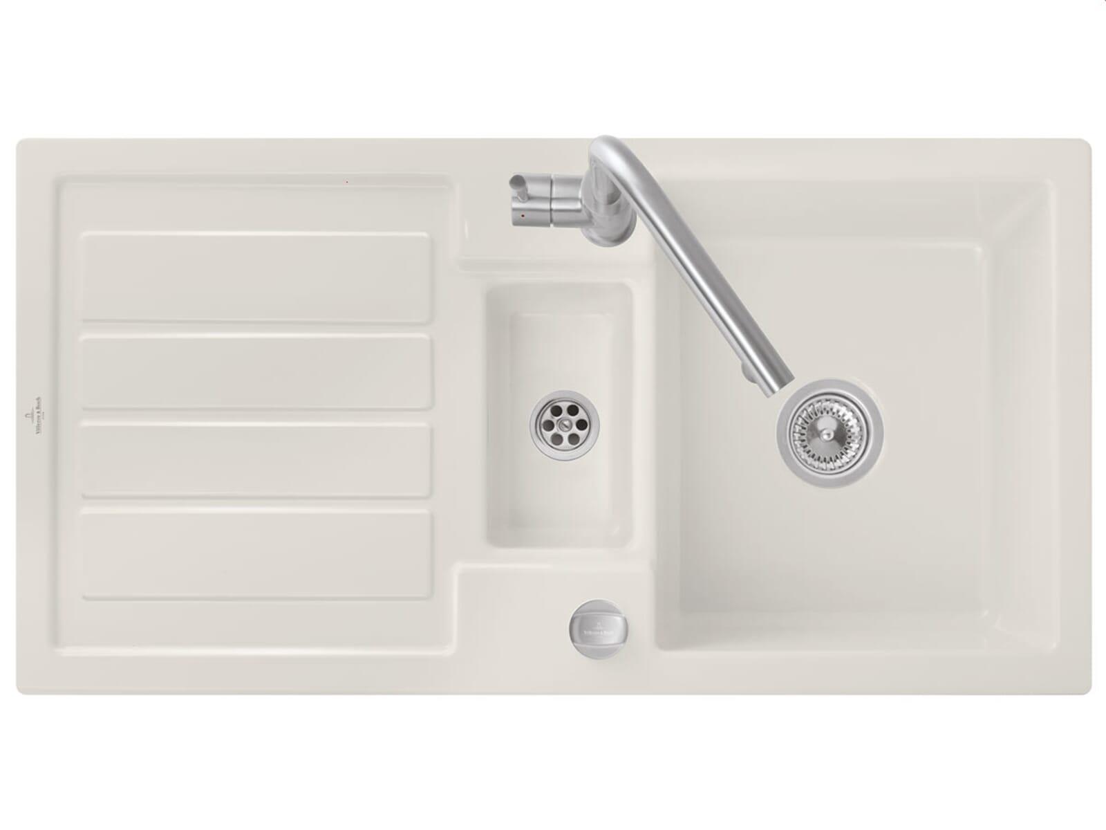 villeroy boch flavia 60 crema beige sp le einbau. Black Bedroom Furniture Sets. Home Design Ideas