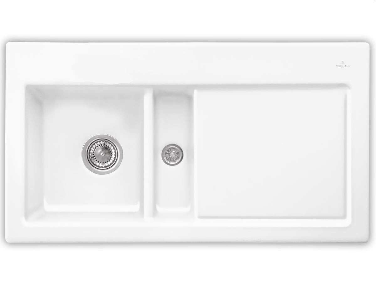 villeroy boch subway 50 edelweiss keramik sp le wei. Black Bedroom Furniture Sets. Home Design Ideas