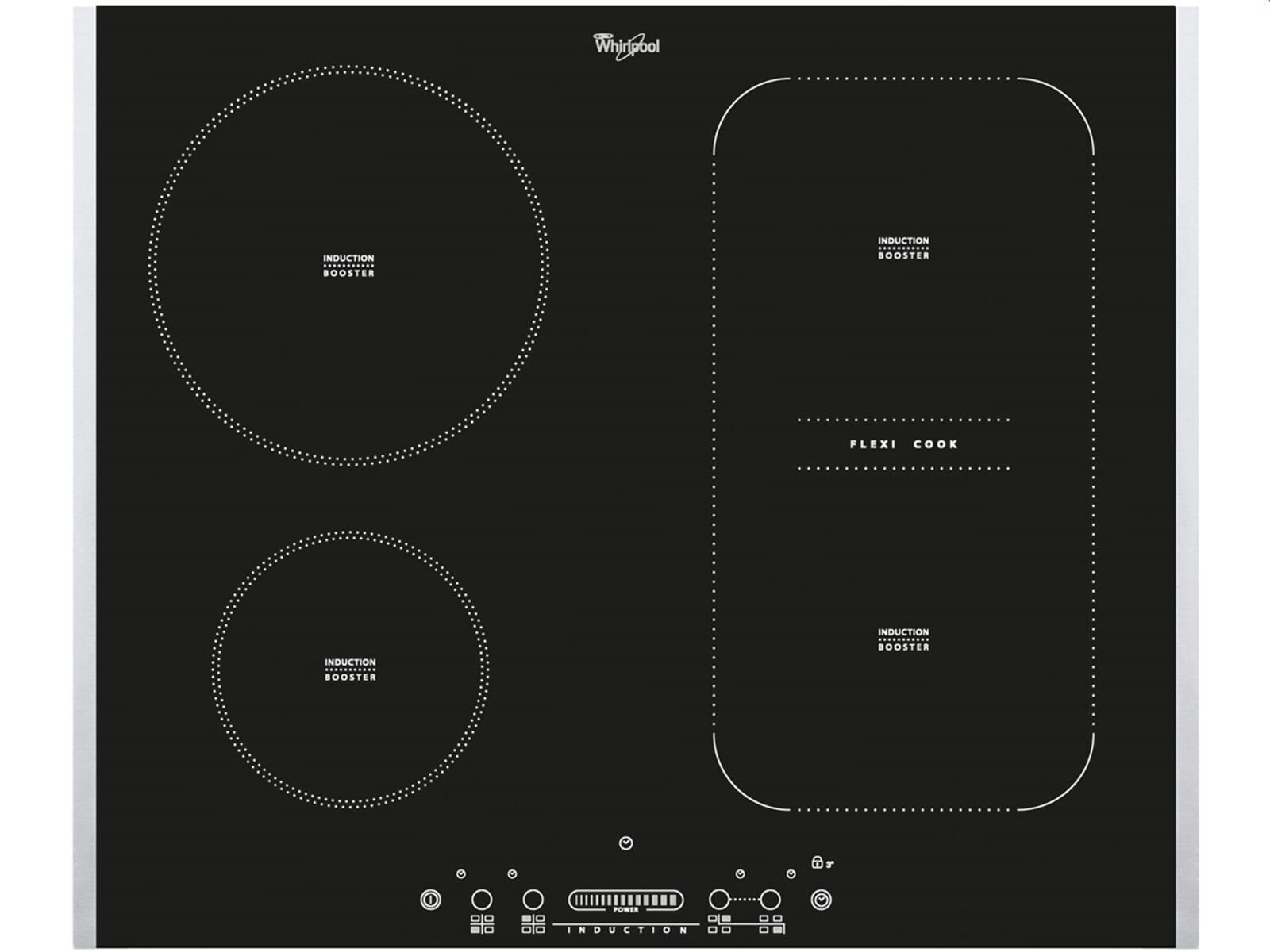 whirlpool acm 810 lx induktion glaskeramik kochfeld f r. Black Bedroom Furniture Sets. Home Design Ideas