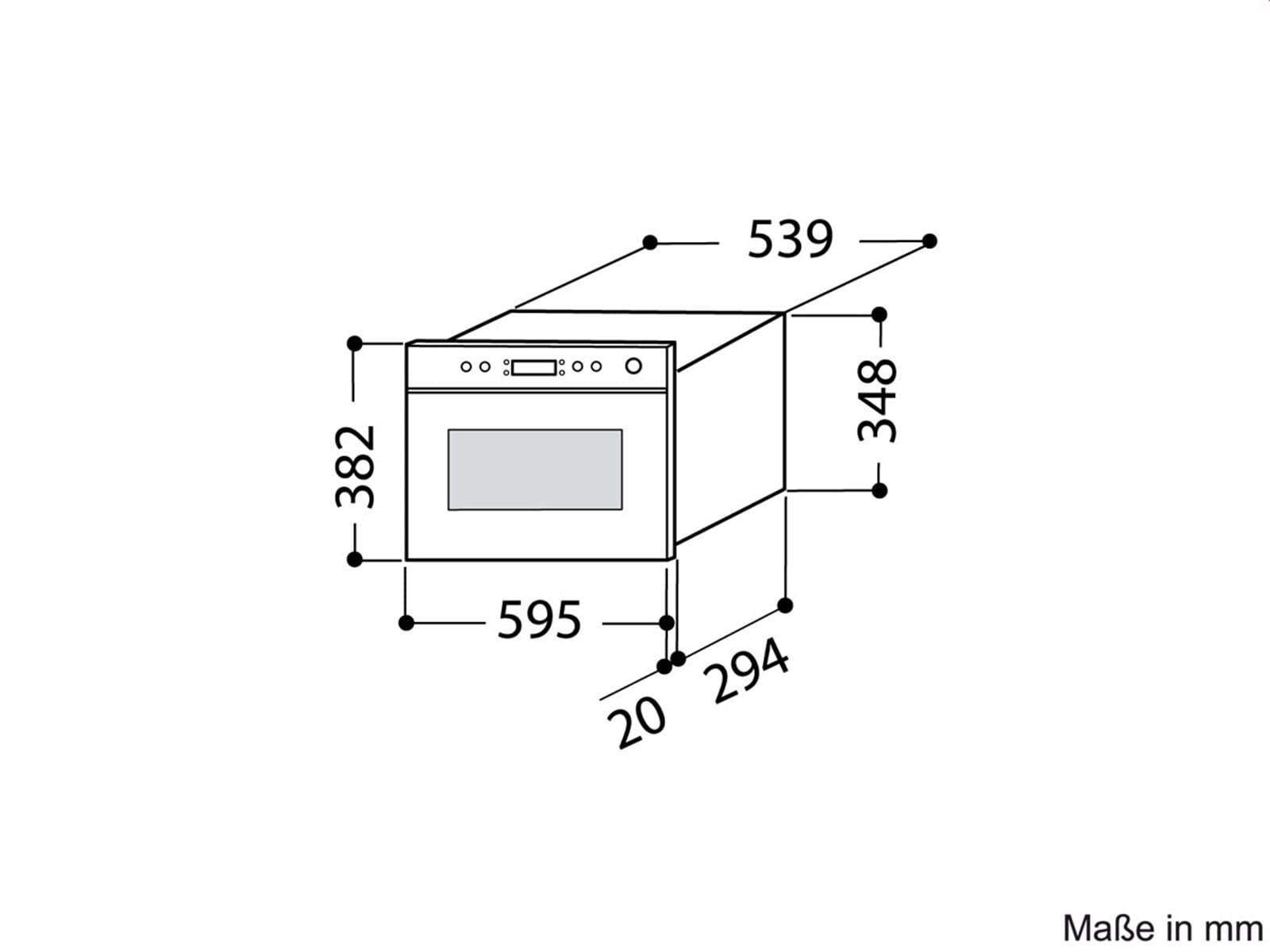 whirlpool amw 490 ix einbau mikrowelle edelstahl ebay. Black Bedroom Furniture Sets. Home Design Ideas
