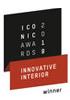 ICONIC AWARDS - Interior Innovation 2019