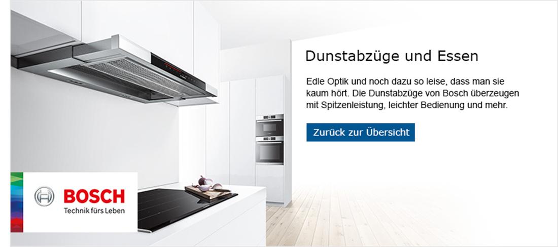 Bosch Dunstabzüge und Essen