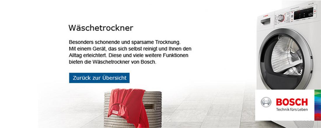 Bosch Wäschetrockner