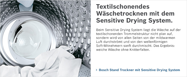 Bosch Sensitive Drying System Wäschetrockner