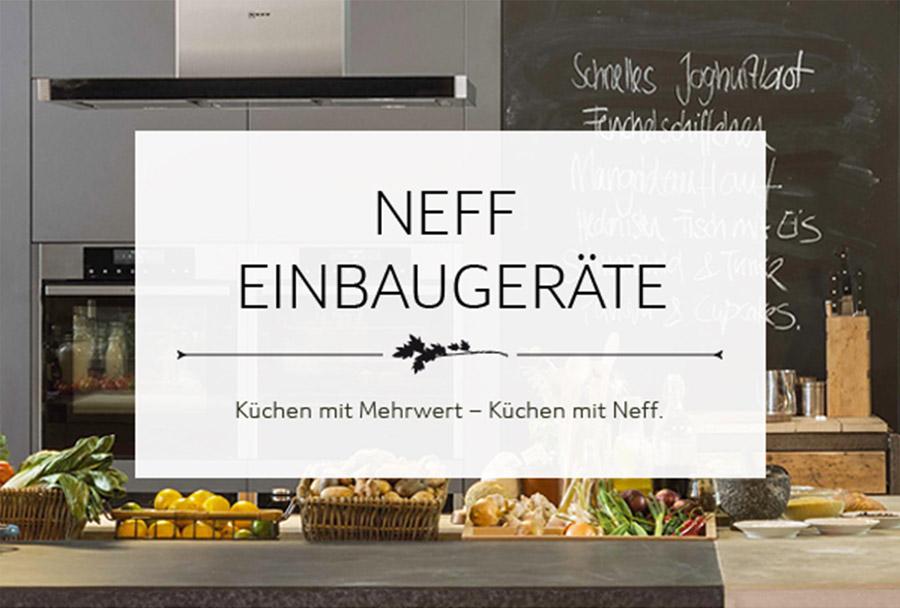 neff küchengeräte » profi-qualität für ihre küche - Neff Küche