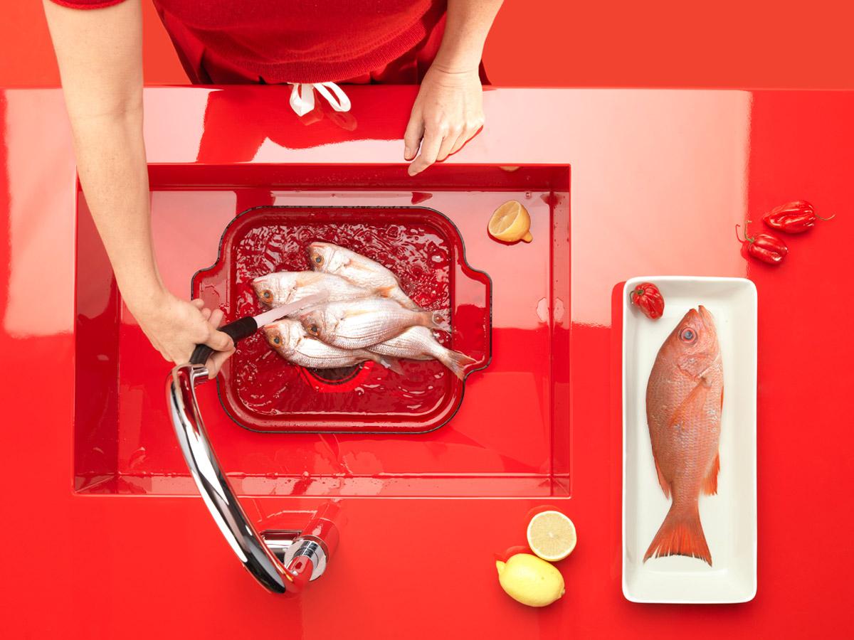 Fisch pochieren
