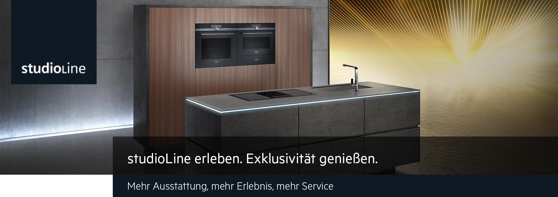 Siemens studioLine erleben. Exklusivität genießen