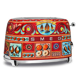 smeg Dolce & Gabbana Toaster -Sicily is my Love