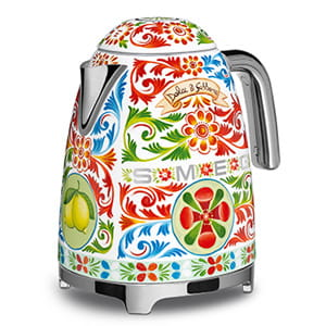 smeg Dolce & Gabbana Wasserkocher -Sicily is my Love