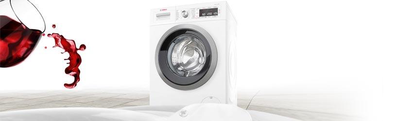 Waschtrockner weiß Frontlader freistehend