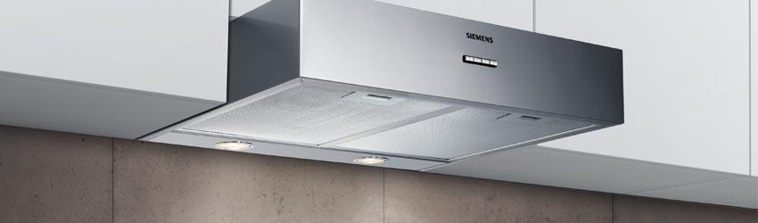 Unterbau Dunstabzugshaube Siemens Edelstahl