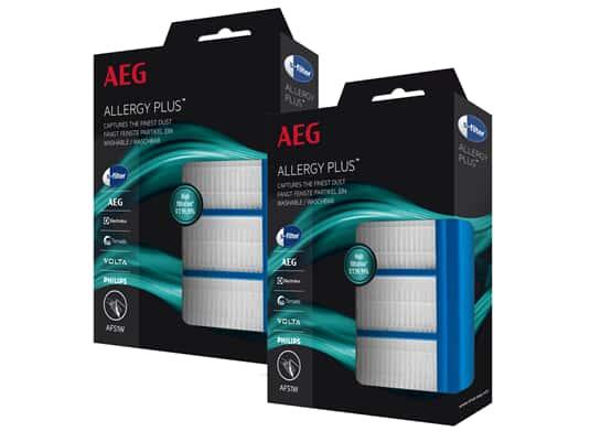 AEG 2 x AFS1W Allergy Plus® s-filter®