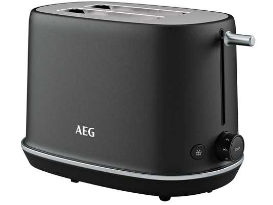 Produktabbildung AEG T7-1-6BP Toaster Schwarz