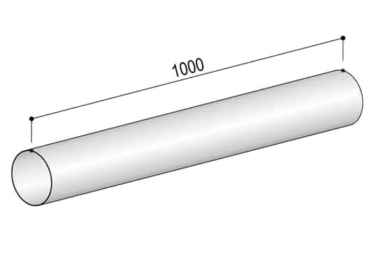 Produktabbildung Berbel Rundrohr System 125 - Rundrohr