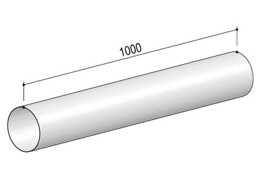 Produktabbildung Berbel Rundrohr System 150 - Rundrohr
