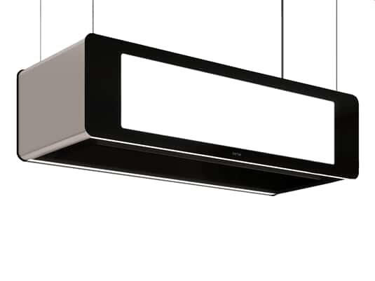 Produktabbildung Berbel Skyline Edge BDL 95 SKE Deckenlifthaube Schwarz