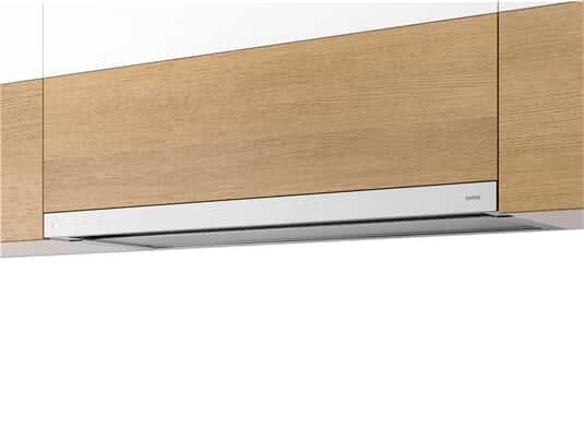 Produktabbildung Berbel Glassline BEH 90 GL Flachschirmhaube Weiß