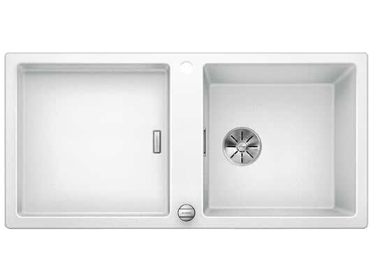 Produktabbildung Blanco Adon XL 6 S Weiß - 523 608 Granitspüle